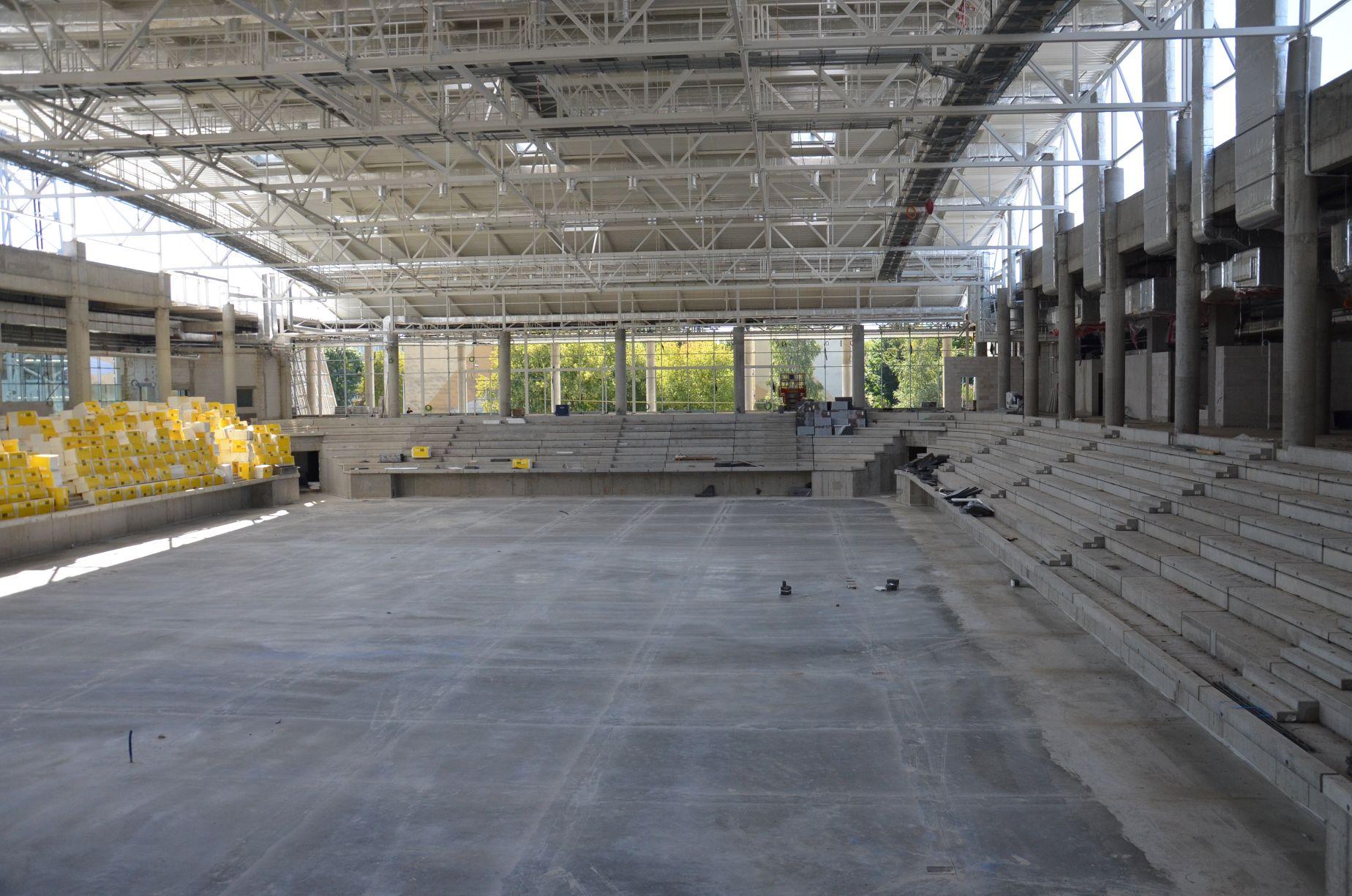 budowa hali sportowej w Mielcu