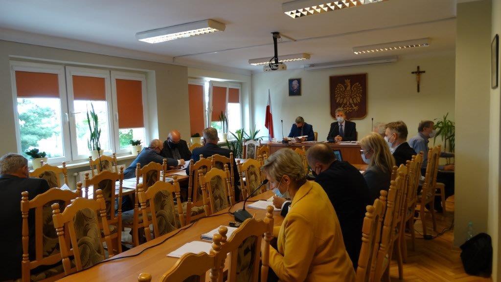 Sesja Rady gminy Tuszów Narodowy