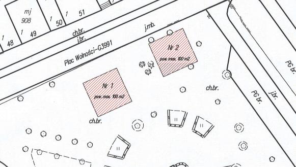 Lokalizacja ogródków piwnych w Kolbuszowej