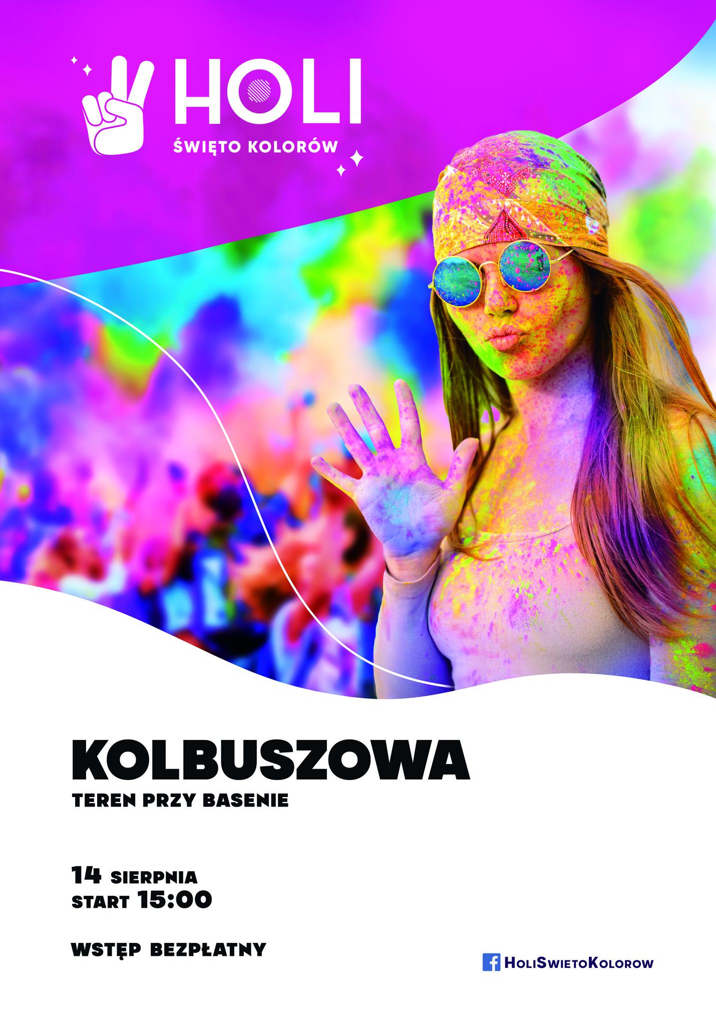 Święto Kolorów - KOlbuszowa