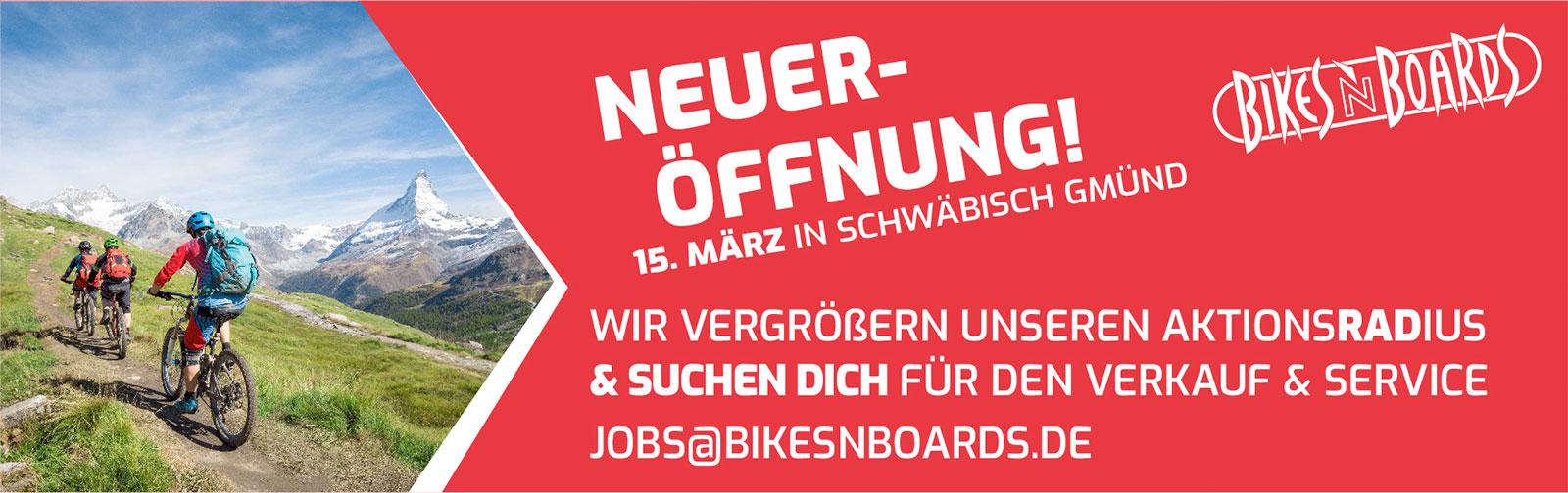 Bikesnboards Schwaebisch Gmuend Eroeffnung 2019