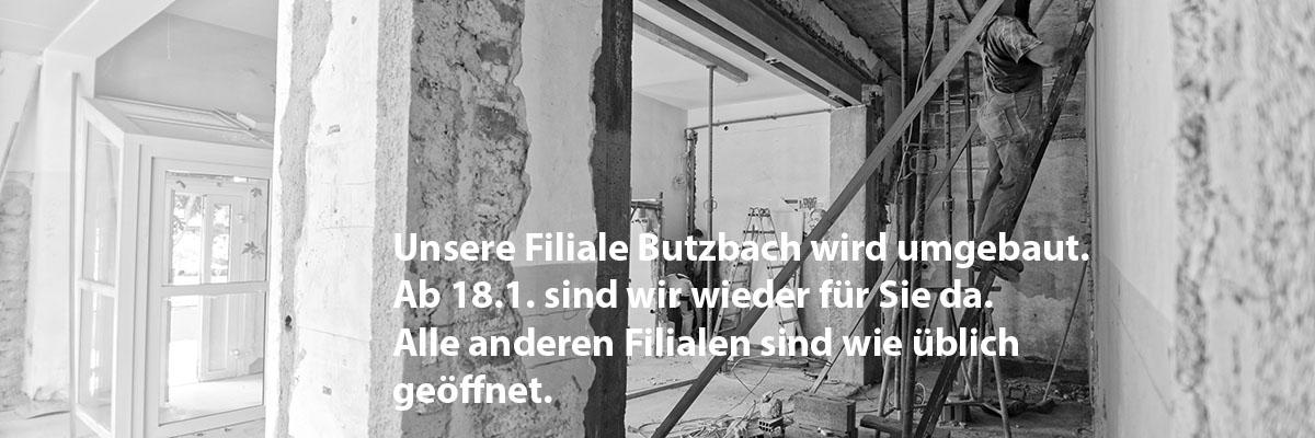 Umbau Butzbach 2019
