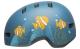 Bell Helm LIL RIPPER Toddler matte gray/blue fish