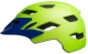 Bell Helm SIDETRACK Youth mat bright green/blue