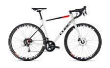Cube Attain Pro Disc white n red