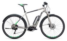 Cube Cross Hybrid Race Allroad 500 silver n green