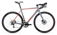 Cube Cross Race Pro grey n flashred