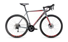 Cube Cross Race Pro grey n red