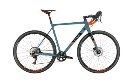 Cube Cross Race SL bluegrey n orange
