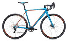 Cube Cross Race SLT blue n flashorange