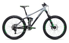 Cube Fritzz 180 HPA Race 27.5 black n grey
