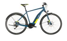 Cube Nature Hybrid EXC 500 Allroad blue n lime
