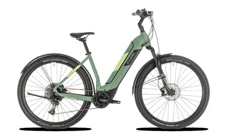 Cube Nuride Hybrid EXC 625 Allroad green n sharpgreen