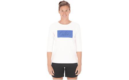 CUBE Organic WS 3/4 Shirt Logo 3.0