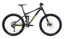 Cube Stereo 140 HPA Race 27.5 black n flashyellow