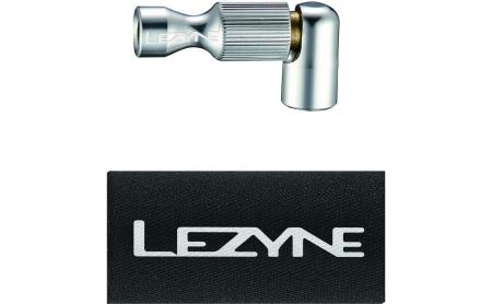 Lezyne CO2 Pumpenkopf Trigger Drive CNC silber-glänzend 1-CS-TRDR-V204