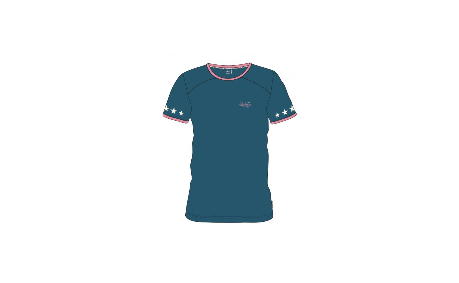 Maloja MariaM Short Sleeve Multisport Jersey L blueberry