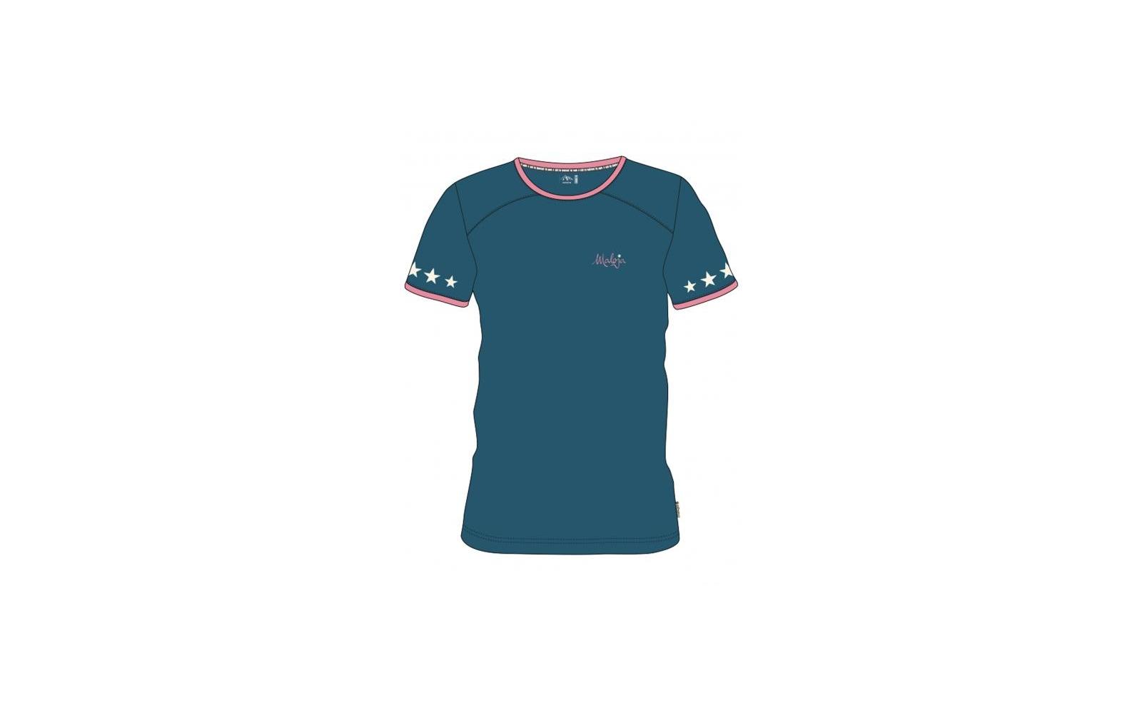 Maloja MariaM Short Sleeve Multisport Jersey L blueberry V4yZaS38Kc
