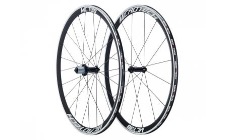 Microtech Rennrad Laufradsatz MCT38 Alu Clincher Shimano/Campagnolo