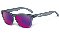 Oakley Brille Frogskin Crystal Black Red Iridium