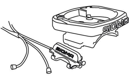 Sigma Universalhalterung 2450 inkl. Kabel