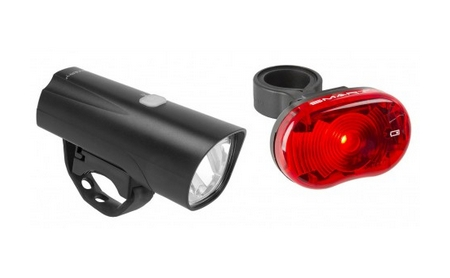 SMART LED-Lichtset weiss + rot Touring 30 + Stern