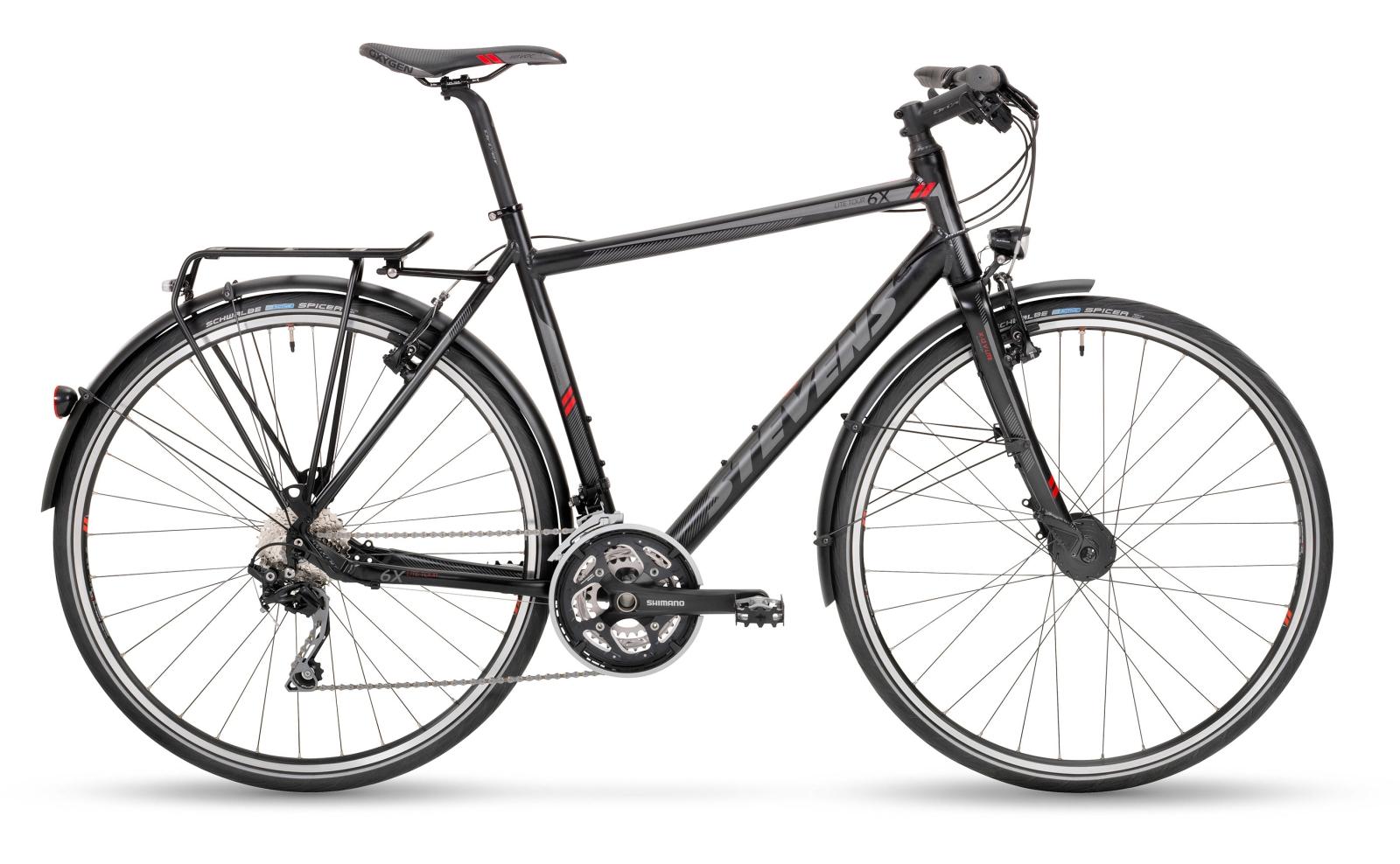 stevens 6x lite tour city bikes fitnessr der 2017. Black Bedroom Furniture Sets. Home Design Ideas