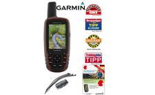 Garmin GPSmap 62s GPS inkl. Topo Deutschland gesamt und Fahrradhalterung