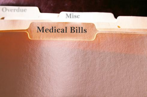 Some programs allow you to consolidate medical bills with credit card debt