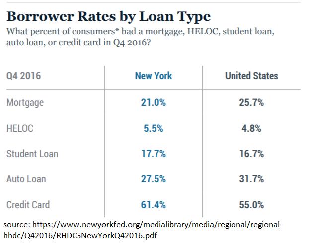 Loan Types by Borrower