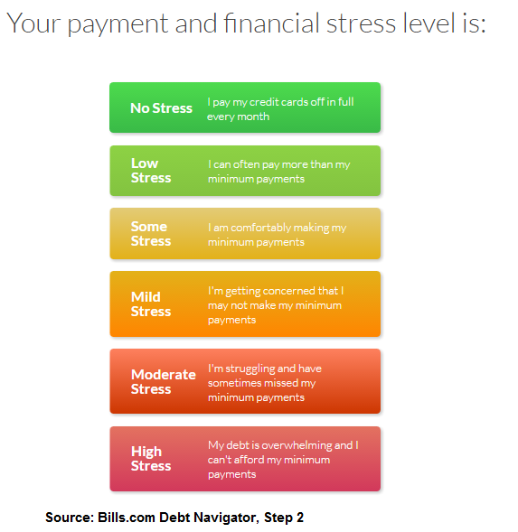 Debt Relief Affordability - Financial Stress
