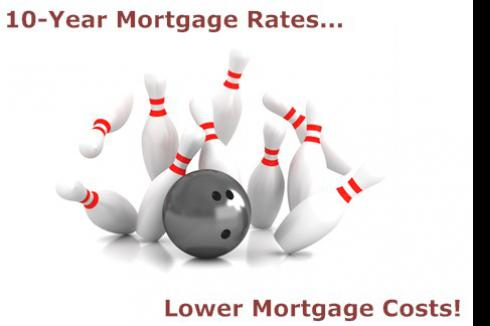 10-Year Mortgage Rates - Lower Costs and Quick Finish