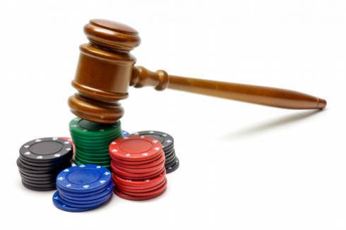 Gambling Marker Debt Law | Gavel on poker chips