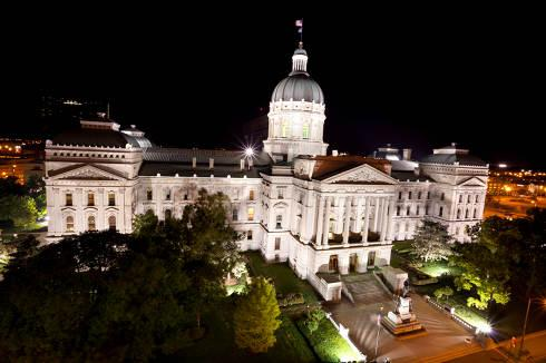 Indiana Capitol | Indiana Collection Laws
