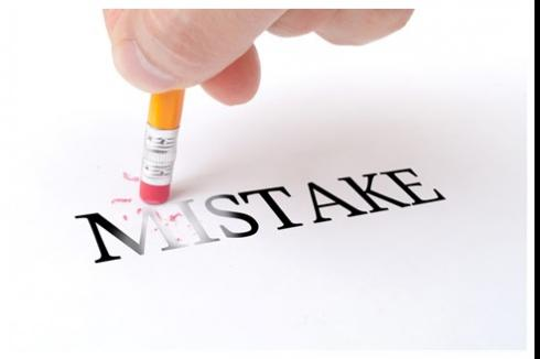 Mistakes and Unfiled Tax Returns