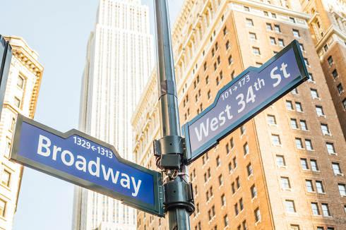 New York City street signs | New York Collection Laws
