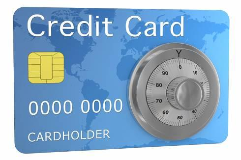 Secured Credit Card | Credit card with combination lock