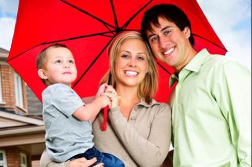 Family Under Umbrella | Umbrella Insurance Policy