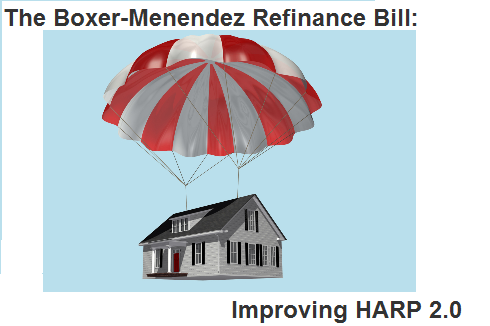 Boxer-Menendez Bill: Improving HARP 2.0 Mortgage