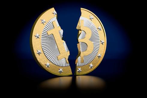 A broken Bitcoin to show Bitcoin fail