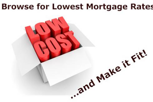 Browse for the Lowest Mortgage Rates - make it fit