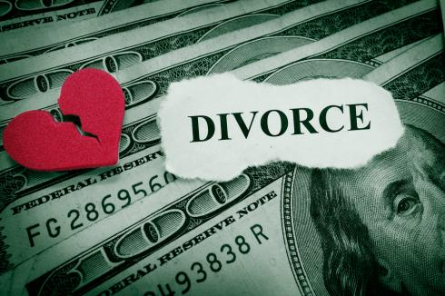 What do you do if you are trying to consolidate debt and then get divorced?