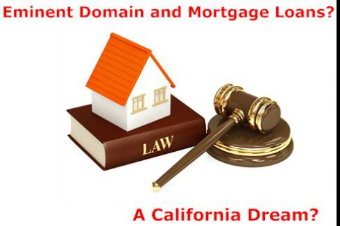 Eminent Domain and the Mortgage Market