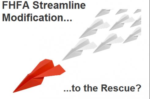 FHFA Streamline Modification