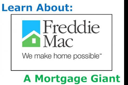 Freddie Mac: A Mortgage Giant