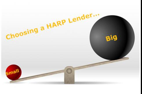 Choose a HARP Refinance Lender