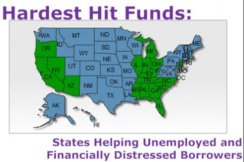 HFF - Hardest Hit Fund: States Helping Financially Distressed Borrowers