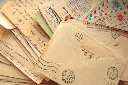 12-year-old yellowed debt collection letters