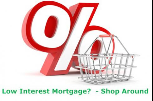 Low Interest Rate Mortgage Home Loans - Shop Around