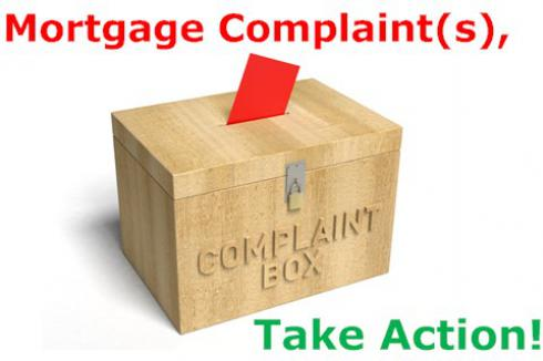 Mortgage Complaints: Take Action